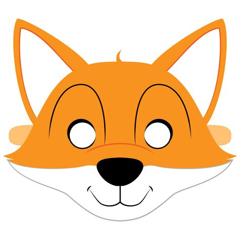 Mask Template Fox Mask Template Free Printable Papercraft Templates