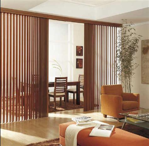 persianas verticales de madera cortinas manzanodecora