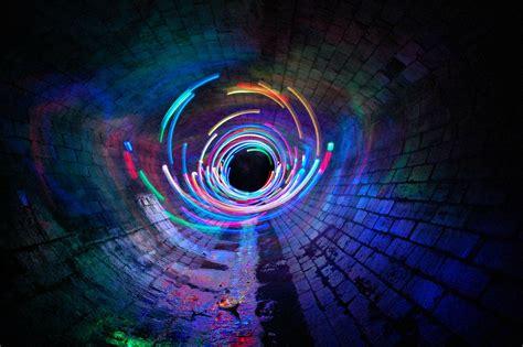 Viar Vortex 4k Wallpapers by Exposure Lights Tunnel Hdwallpaperfx