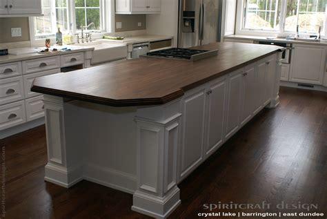 kitchen island tops custom walnut slab kitchen island top by spiritcraft