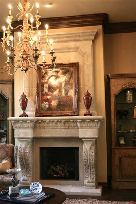 Valencia Fireplace Mantel Mediterraneanlivingroom