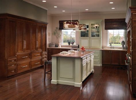 kraftmaid kitchen island pin by kraftmaid cabinetry on kitchens luxe transitional