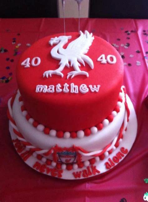 Liverpool Birthday Cake