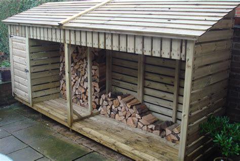 Medium Log Store (4m)   The Wooden Workshop   Oakford, Devon