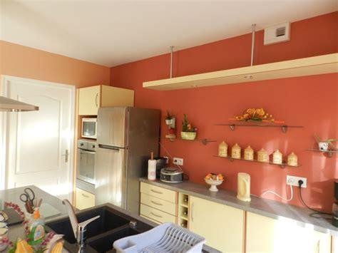 peindre cuisine rustique supérieur peindre une cuisine en chene rustique 12