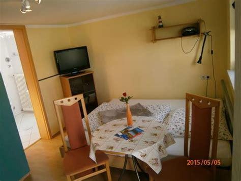 1 60m bett ferienhaus herzog 1 zimmer apartment sep hauseingang