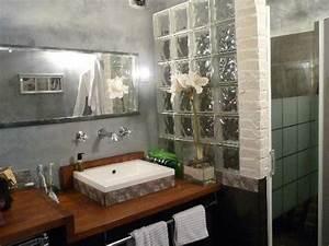 Salle De Bain à L Italienne : salle de bain aquarius avec douche a l 39 italienne photo ~ Dailycaller-alerts.com Idées de Décoration