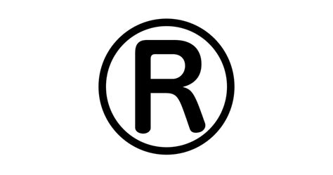 Problems Using The Registered Trademark Symbol With