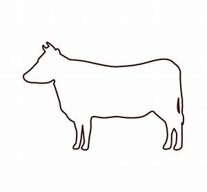Cow Outline Icon - Icons by Canva