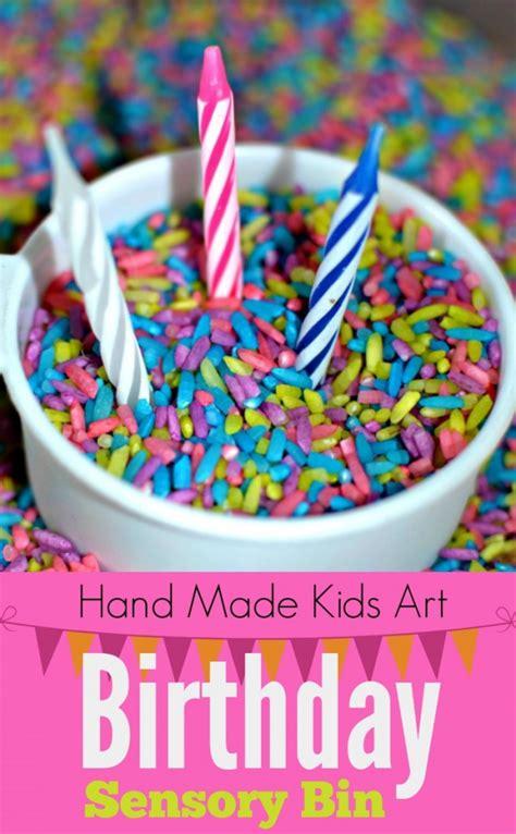 birthday sensory bin kids steam lab