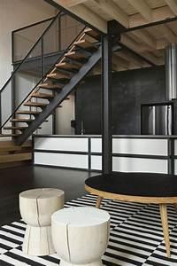Mezzanine Metallique En Kit : les beaux designs d 39 escalier m tallique ~ Premium-room.com Idées de Décoration