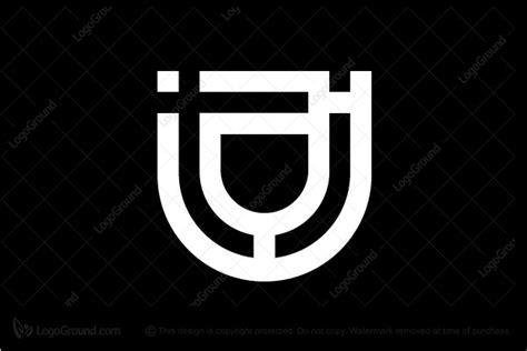 tj  jt monogram logo