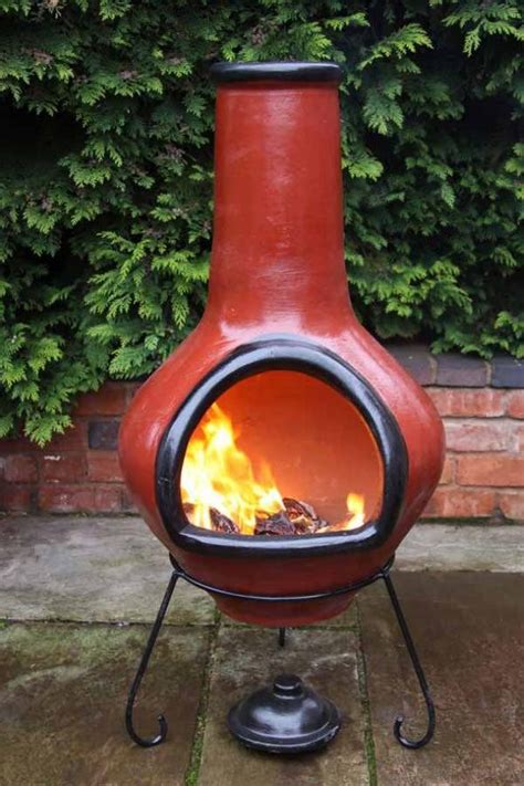 For fire pit, you can find many ideas on the topic chimney, pit, clay, fire, and many more on the internet, but in the post of clay fire pit chimney we have tried to select the best visual idea about fire pit you also can look for more ideas on fire pit category apart from the topic clay fire pit. Genuine Mexican Red Clay Chimenea | Fire pit backyard, Outdoor fire pit, Backyard fire