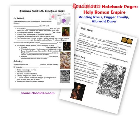 early renaissance the medici family and renaissance art notebook pages homeschool den