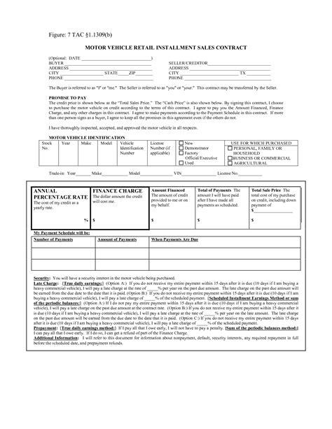 retail installment contract motor vehicle impremedianet