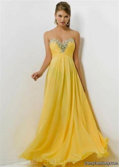 Yellow prom dresses 2016-2017   B2B Fashion