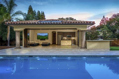 Saratoga Pool House Kitchen, CA