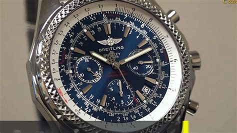 breitling bentley breitling bentley motors chronograph in steel ref no