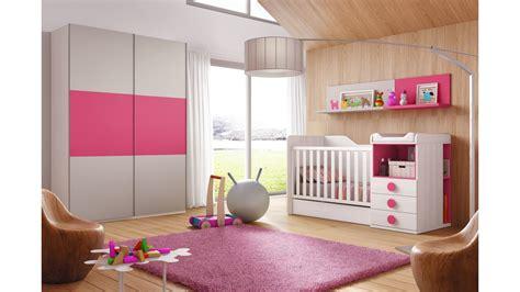 chambre bebe evolutive chambre évolutive bébé coloris fuchsia glicerio