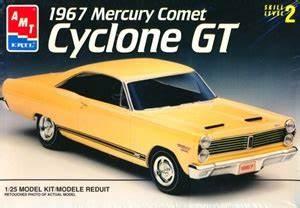 1967 Mercury Comet Cyclone Gt  1  25   Fs