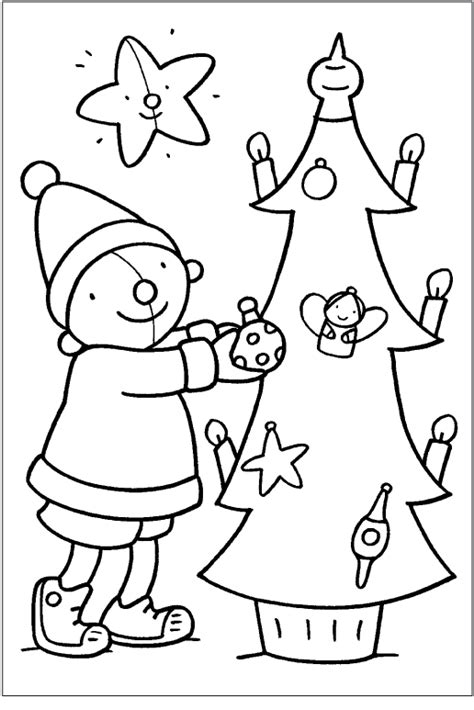 Kleurplaten Kerst by Kleurplaat Pompom Kerstmis Thema Kerst Kerstmis