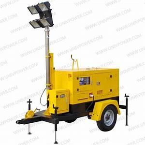Mobile Trailer Generator Light Tower   Lighting Tower
