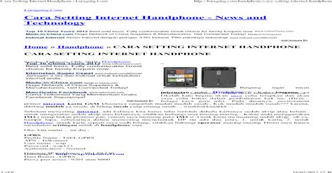 Bagaimana cara pengaturan gprs telkomsel manual ini sangat mudah bukan? Setting Gprs Telkomsel : Cara Setting Apn Telkomsel Crimsonnight - Cara mengetahui settingan apn ...