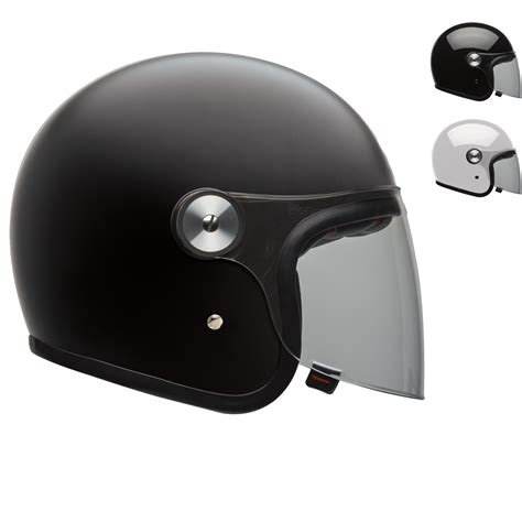 Bell Riot Solid Open Face Motorcycle Helmet  Open Face