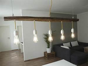 U Balken Holz : lampe suspendu en bois poutres antiques luxina licht ~ Markanthonyermac.com Haus und Dekorationen