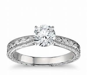 wedding favors wonderful engraved engagement rings cheap With blue nile womens wedding rings