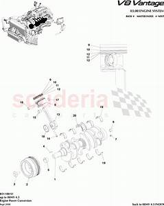 Aston Martin V8 Vantage Engine Power Conversion Parts