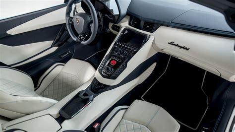 lamborghini jeep interior 2018 lamborghini aventador s roadster 4k interior