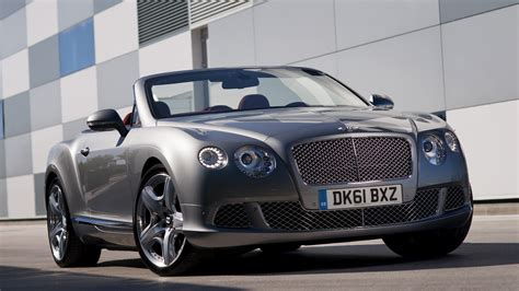 Bentley Continental Gt Convertible (2011) Wallpapers And