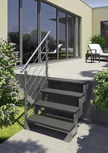Geländer Treppe Aussen : dolle au entreppe gardentop stahlwangen startset 1 f r 2 stufen in 2019 garten ~ A.2002-acura-tl-radio.info Haus und Dekorationen
