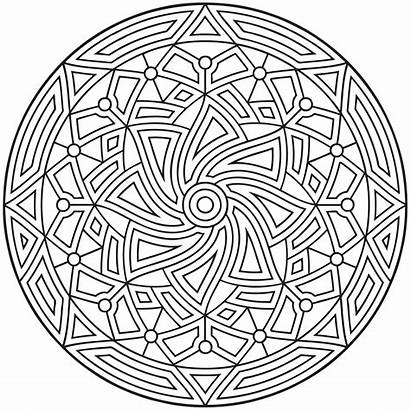 Coloring Geometric Pages Printable