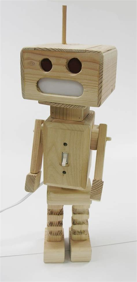 wooden robot httpheywengdeviantartcomartwooden