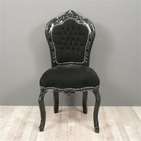 chaises baroque black baroque chair ls bronze statue