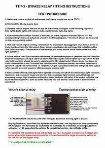 Trailer Indicator Buzzer Wiring Diagram