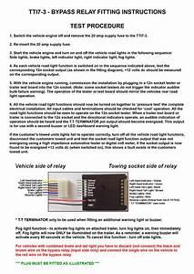 Trailer Indicator Buzzer Wiring Diagram