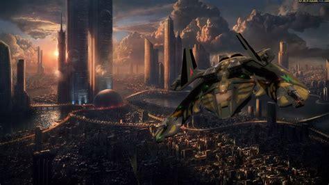 vaisseau spatial full hd fond decran  arriere plan