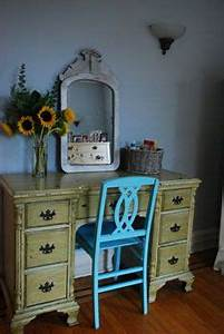 chairs turquoise and desks on pinterest With home goods painted furniture