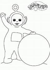 Teletubbies Pages Coloring Printable sketch template