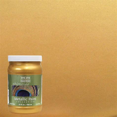 modern masters 1 qt iridescent gold metallic interior