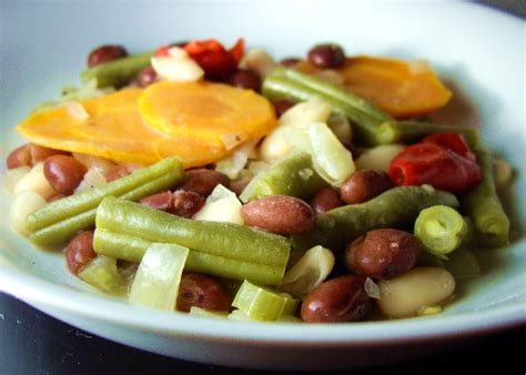 Mediterranean Style Beans And Vegetables Crock Pot) Recipe