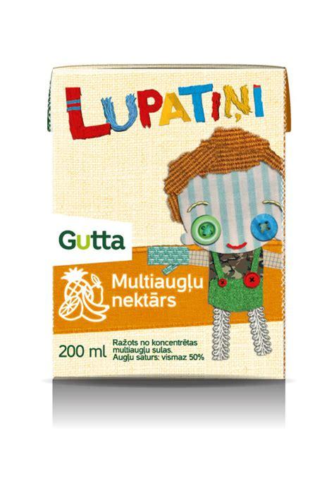 Multivitamīnu nektārs Lupatiņi - Gutta Gutta