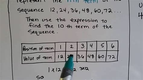 grade  math  patterns  sequences youtube
