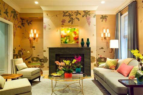mempercantik ruang tamu  wallpaper dinding