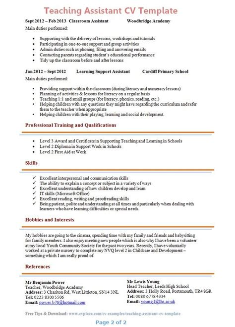 Teachers Aide Resume by Application Letter Aide Resume