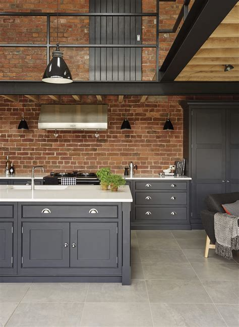 and grey kitchen ideas industrial style kitchen tom howley