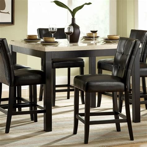 dining room appealing black kitchen table set small